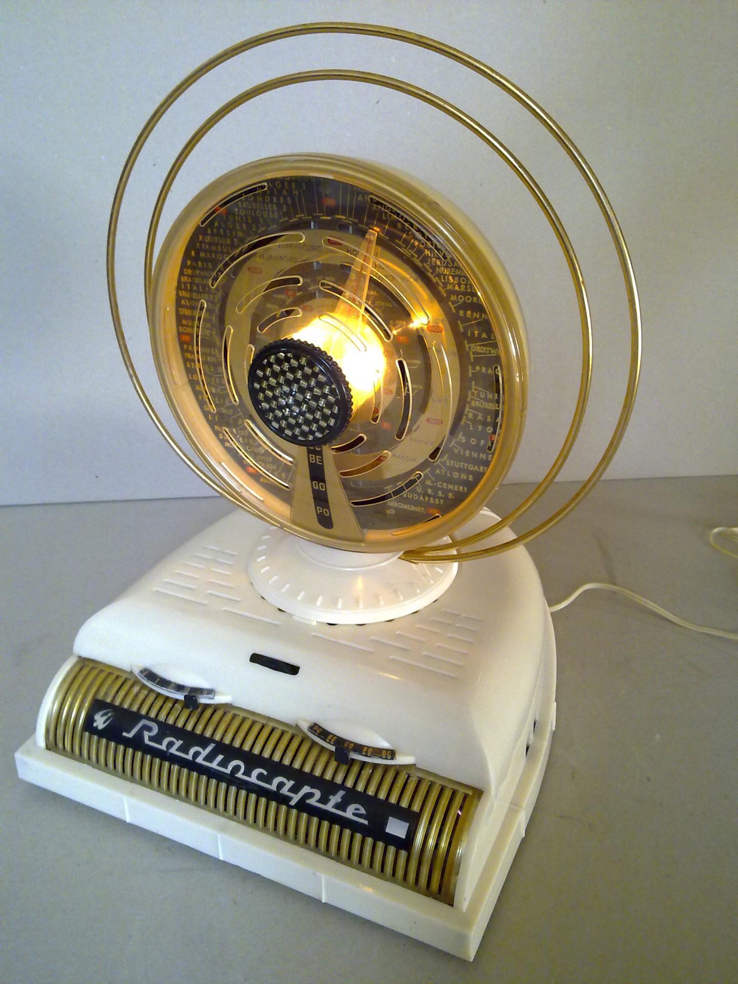 Radiocapte Célard  ivoire 1954